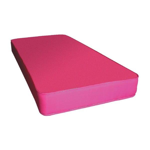 Materac dziecięcy Single Pink, 190x90x15 cm