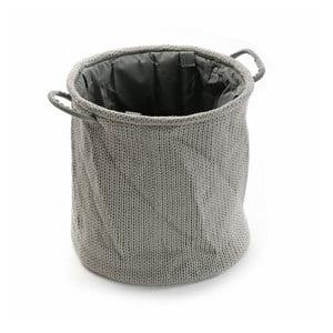 Kosz Grey Knitted, 36x38 cm