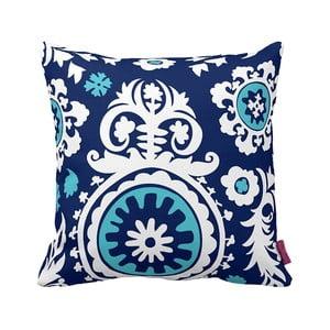 Poduszka Floral Blue, 43x43 cm