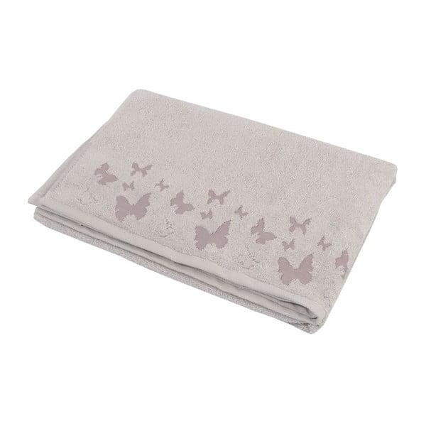 Ręcznik Papilon Gris, 90x140 cm