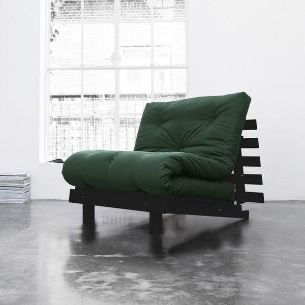 Fotel rozkładany Karup Roots Wenge/Botella
