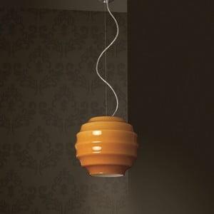 Lampa sufitowa Honey, miodowa