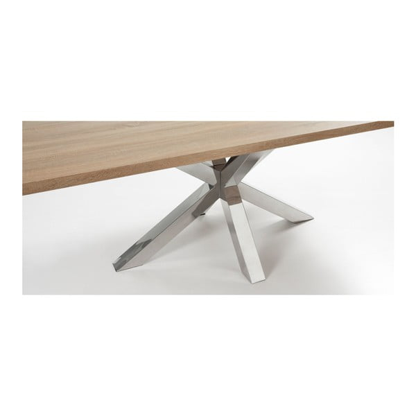 Stół z metalowymi nogami La Forma Arya Natural,dł.200cm