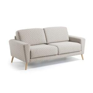 Beżowa sofa 3-osobowa La Forma Guy