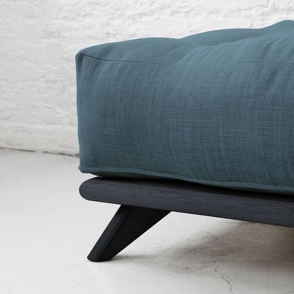 Sofa Senza Black/Deep Blue