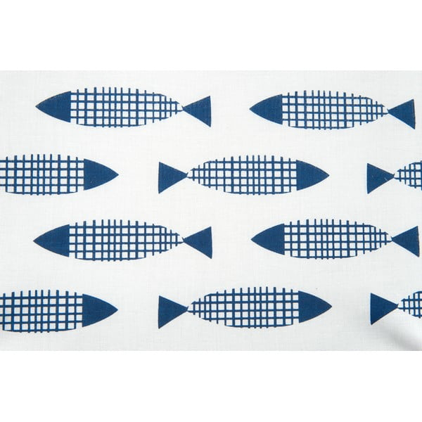 Szkatułka Fish Blue 23x23 cm