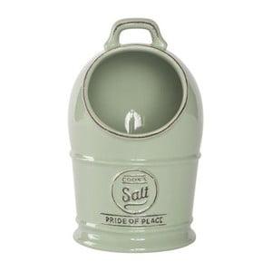 Zielony pojemnik ceramiczny na sól T&G Woodware Pride Of Place