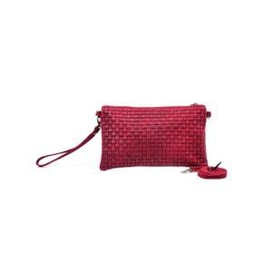 Skórzana kopertówka Catarina, czerwona
