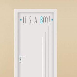 Naklejka dekoracyjna It´s A Boy, 13x54 cm