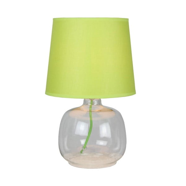 Lampa stołowa Mandy, zielona