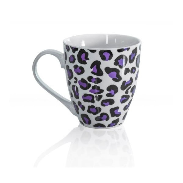 Kubek porcelanowy Sabichi Leopard, 600 ml