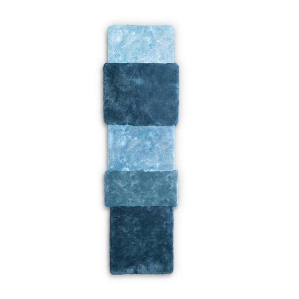 Niebieski dywan EMKO Over Stripe