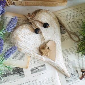 Drewniane dekoracyjne serce Orchidea Milano Heart