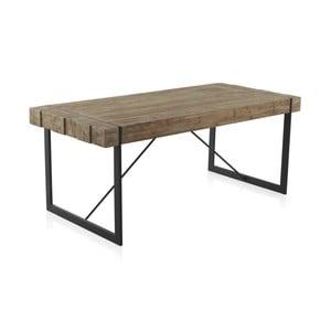 Drewniany stół z metalowymi nogami Geese, 200x90 cm