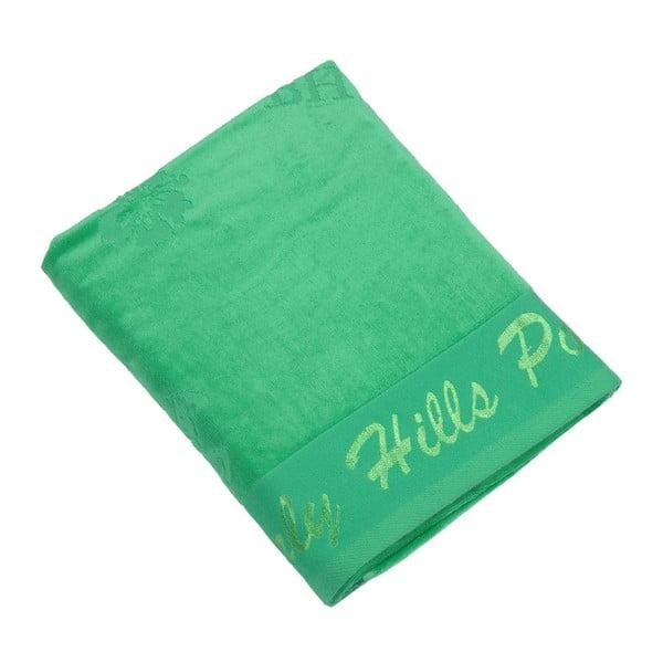 Ręcznik bawełniany BHPC Velvet 80x150 cm, zielony