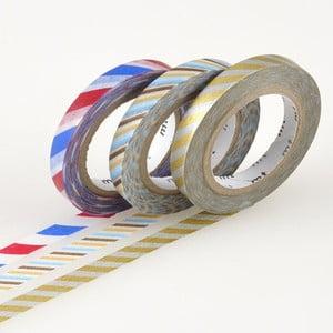 Zestaw 3 taśm dekoracyjnych washi Twist C