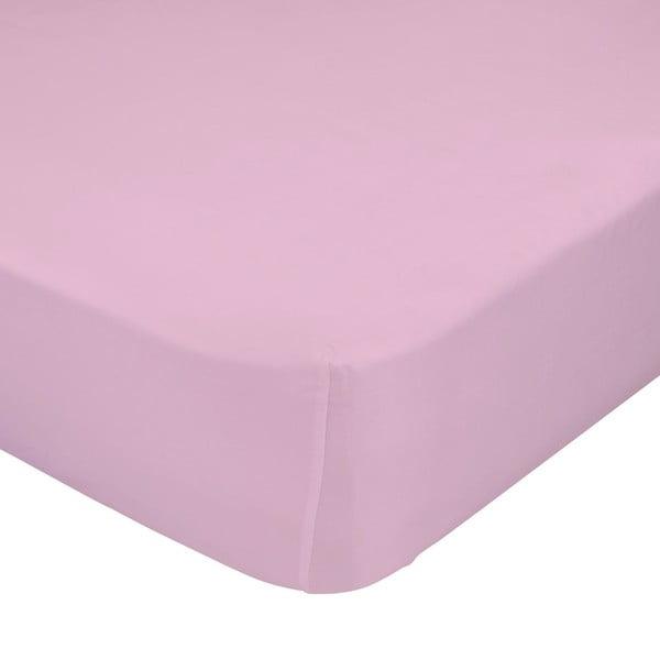 Prześcieradło Crib Pink 60x120 cm