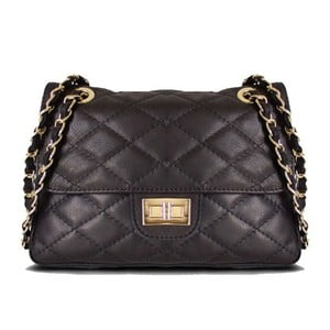 Skórzana torebka Valentina Black