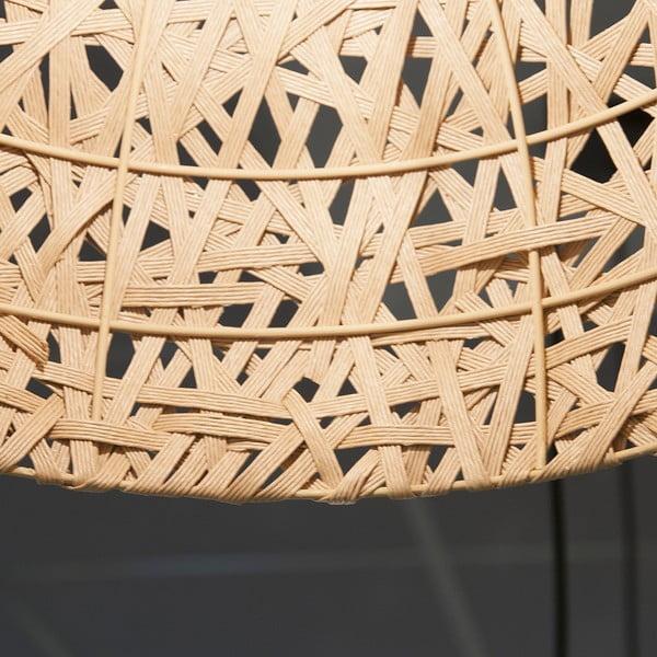 Lampa wisząca Present Time Nest Natural, duża