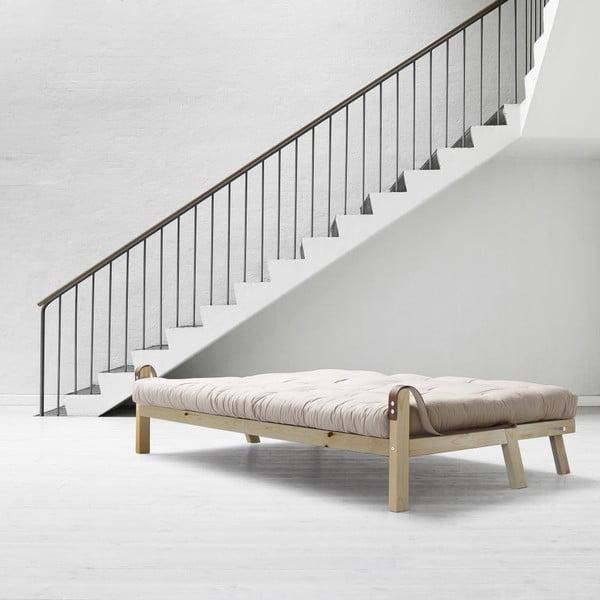 Sofa rozkładana Karup Poetry Clear Iacquered/Vision/Gris