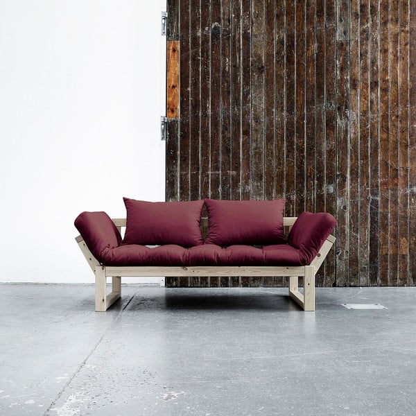 Sofa Karup Edge Natural/Bordeaux