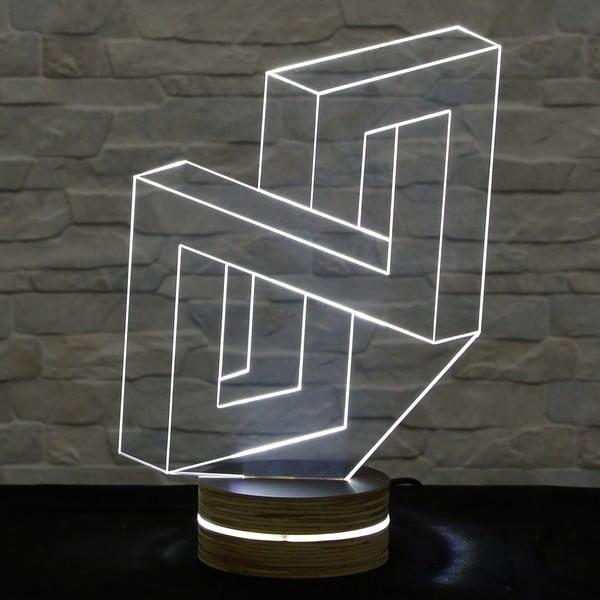 Lampa 3D stołowa Deception