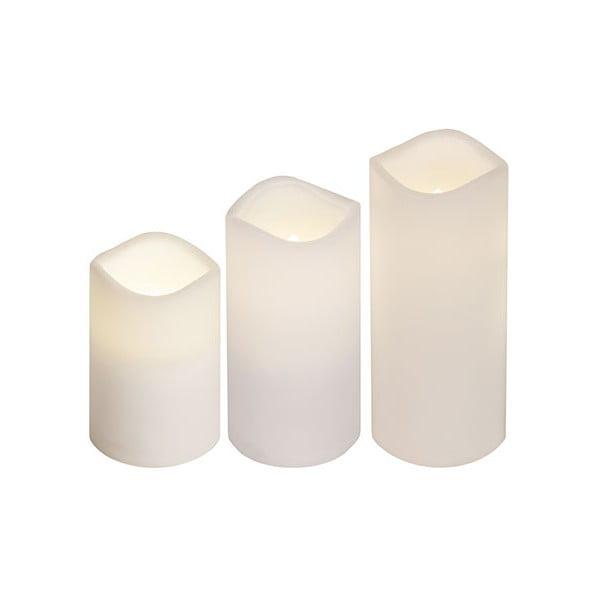 Zestaw 3 świeczek LED Best Season Candles