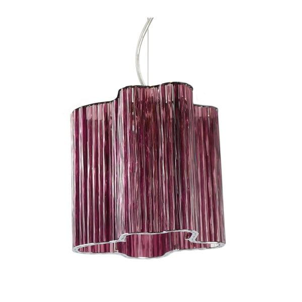 Lampa wisząca Ferro Cristal Purple Single