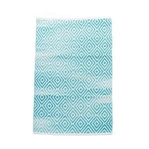 Dywan bawełniany InArt Marine, 120x180 cm, kremowy/miętowy