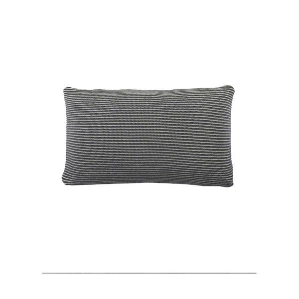 Antracytowa poduszka Marc O'Polo Sigg, 30x50 cm