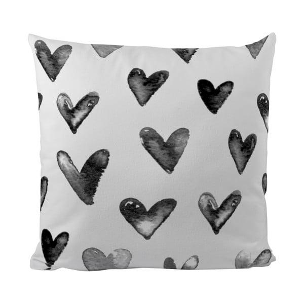 Poduszka Black Shake In Love, 50x50 cm