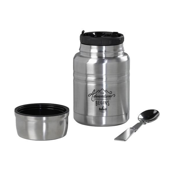 Termos na zupę z łyżką ze stali nierdzewnej Gentlemen's Hardware, 500 ml