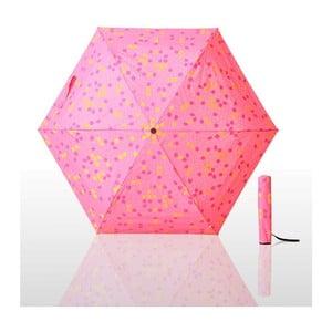 Parasol składany Waterlock, różowy