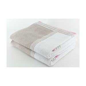 Zestaw 2 ręczników Happy Rock, 70x140 cm