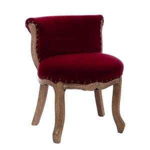 Fotel Low Red, 51x45x59 cm