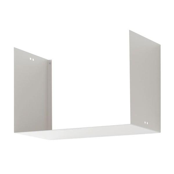 Półka Geometric Two, biała