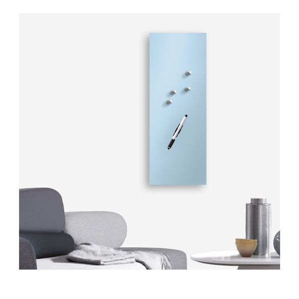 Tablica magnetyczna Eurographic Memo Blue, 30x80 cm