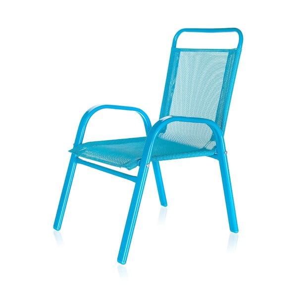 Dziecięce krzesło ogrodowe Kids, niebieskie