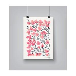 Plakat Americanflat Cherry Blossoms, 30x42 cm