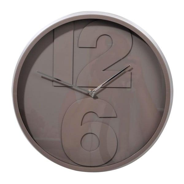 Zegar 2 Numbers Grey