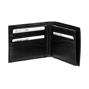 Skórzany portfel Continuum 1511, pojedyncze szycie