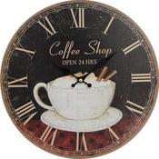 Zegar ścienny Coffee Shop