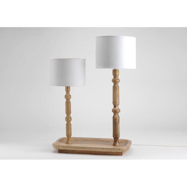Podwójna lampa stołowa On Tray