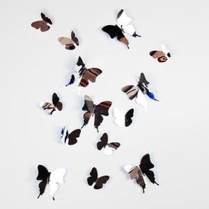 Naklejka Motyle 3D, lustrzane