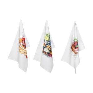 Zestaw 3 bawełnianych ścierek Côté Table Sucre