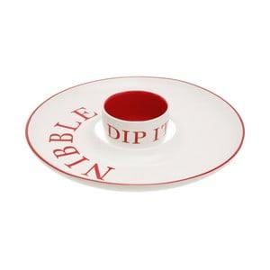 Talerz do serwowania z miską na dip Premier Housewares Hollywood