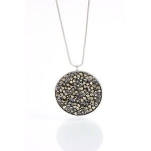 Naszyjnik z kryształami Swarovskiego Yasmine Tisza