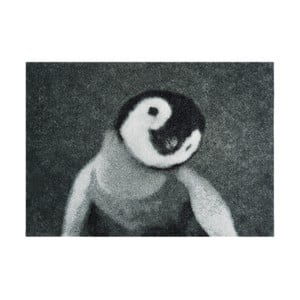 Szara wycieraczka Mint Rugs StateMat Penguin, 50x75 cm