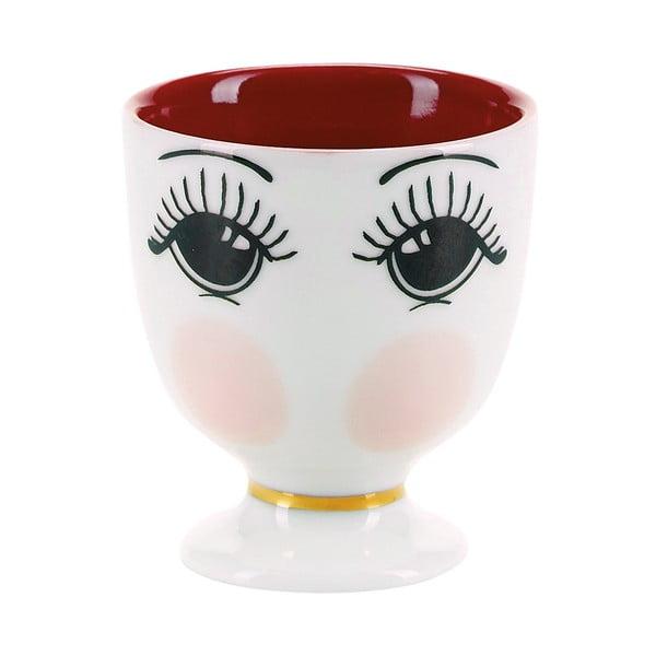 Kieliszek na jajko z glazurą w bordowej barwie Miss Étoile Fairytale