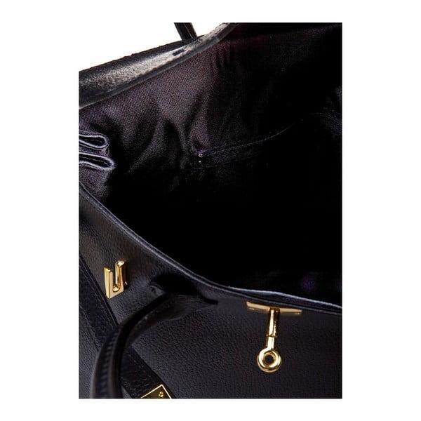 Skórzana torebka Bella Black